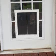 plexidor in glass unit