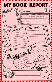 Book Report Template Book Review Template For Kids Tips Activities Go