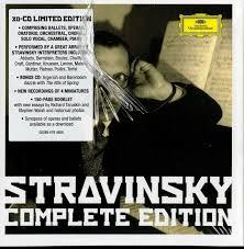 Strawinsky S mtliche Werke Limited Edition BOULEZ BERNSTEIN.