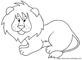 Colorare Leone Disegno Leone