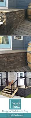 faux stone wall siding panels. 26 most stunning deck skirting ideas to try at home. faux stone wall panelsstone siding panels s