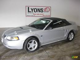 2000 Silver Metallic Ford Mustang GT Convertible #26996329 ...