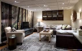 Basement Modern Basement Ideas Living Room Ideas