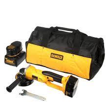 dewalt tools ad. dewalt 18-volt xrp nicd cordless 4-1/2 in. cut-off tool with (2) batteries 2.4ah, 1-hour charger and contractor bag-dc411ka - the home depot dewalt tools ad