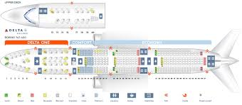 B744 Seating Chart Seat Map Boeing 747 400 Delta Airlines Best Seats In Plane