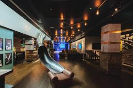 red bull corporate office. Who Needs A Lift When You Have Slide? Red Bull Corporate Office