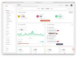 Material Design Website Template 29 Best Material Design Admin Dashboard Templates 2020