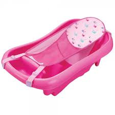 the first years infant to toddler pink bath tub with sling sj toys zone melbourne
