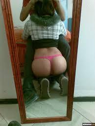Big Ass foreign lewd MM self shot peach hole jeans hip fat.