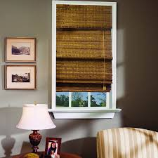 Shades, Blackish Brown Rectangle Contemporary Roman Bamboo Shades Stained  Ideas: Remarkable roman bamboo shades
