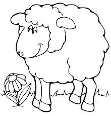Coloriages Moutons Les Animaux Dessin Dessin De Mouton A Colorier Et Imprimer L