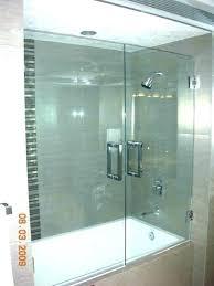 half glass shower door bathtub half glass panel half glass shower door for bathtub n doors