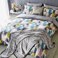 scion nuevo bedding nuevo grey geometric bedding