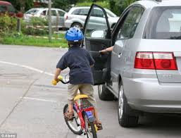 the number of cyclists injured by open car doors has soared by 25 per cent in