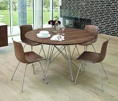 modern round wood dining table danish modern round dining table with spider like legs modern wood