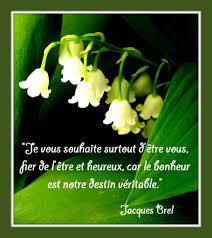 Premier Mai Citation Bonheur Balades Comtoises