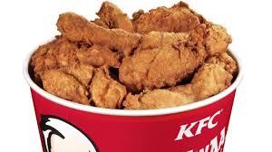 kfc fried chicken bucket. Perfect Fried Anna Wurtzburger Said Her Bucket Didnu0027t Look Nearly This  On Kfc Fried Chicken Bucket