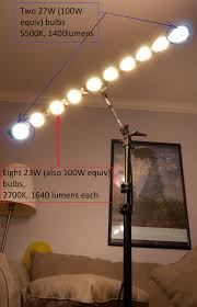 Homemade Cfl Grow Light Fixture How To Build A Sweet And Simple Cfl Strip Light Diy