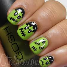 The Ten Scariest Nail Art Designs for Halloween | Nerdy But Flirty