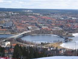 It was founded in 1786 and is the only town in sweden that was founded in the 18th century. File Ostersund From Gustavsbergsbacken Jpg Wikimedia Commons