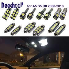 Audi A5 Interior Led Lights Deechooll 16pcs Car Led Light For Audi A5 S5 B8 2008 2013