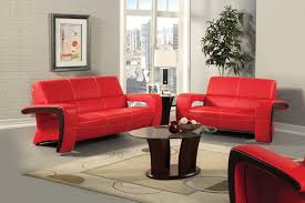 Red Sofa Design Living Room Elegant Red Sofa Wooden Style Accents White Bright Interior Design
