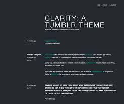 Clarity Tumblr
