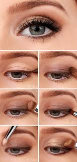 golden smokey eye tutorial 10 brown eyeshadow tutorials for eyes gleamitup this is pretty and not so dark as most smokey eyes
