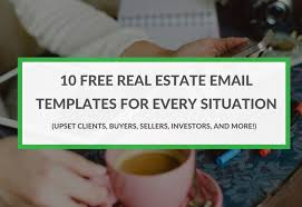10 real real estate email templates for