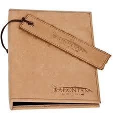 leather binder 18