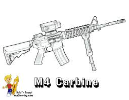 Coloring Pages Of Guns Coloring Pages