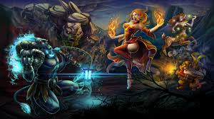 dota 2 heroes spirit breaker lina enchantress sniper and tiny hd
