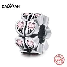 <b>DALARAN 925 Sterling Silver</b> 12 Styles Month Heart Charms Silver ...