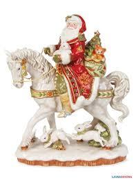 "Купить большую <b>фигурку</b> Деда Мороза на <b>лошади</b> ""Дамаск"" под ..."