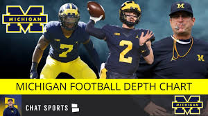 Michigan Football Projected Depth Chart Michigan Football Rumors Projected 2019 Depth Chart For Offense And Defense