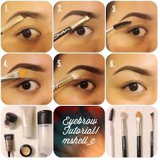diy eye brow tutorial