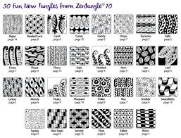 Zentangle Pattern Interesting Zentangle 48 Workbook Edition by Suzanne McNeill features ideas for