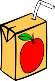 apple juice box. apple juice box clip art