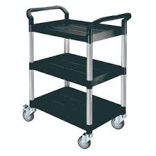 office trolley cart. Triple Deck Service Trolley Cart - HS808A Office Trolley Cart Y
