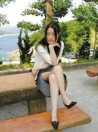 Korean girl nude in public