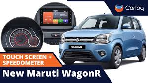 <b>New</b> Maruti WagonR Speedometer Cluster + <b>Touch Screen</b> System ...
