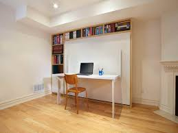 white murphy bed home desk combination