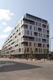 apartment building design. Designed By Glas Architects, The New Residential Complex On Southwark Bridge Road In South-east London Stands Out With It\u0027s Sleek, Clean Compartmentalized Apartment Building Design
