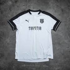 Puma X Trapstar Football Tee Puma White Footshop