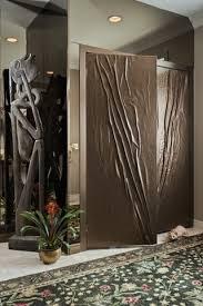 unique closet doors Entry with Art as foyer closet. Image by: Montdor  Interiors - Shaila Gottlieb