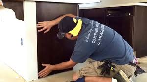 how to install cabinet skins no nail