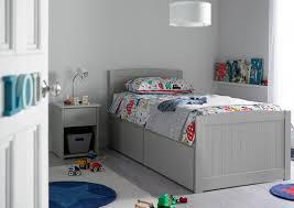 Portland Bedroom Furniture Portland Solo Grey Bed Frame Painted Wood Wooden Beds Beds