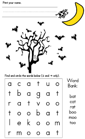Words With Moo Halloween Games Easy Word Search Sight Words Reading Writing