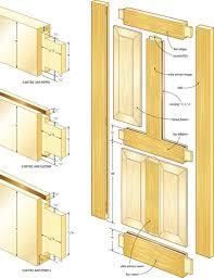 door jamb diagram. Doorframe Door Frame Building Jamb Solid Core Doors With Main Measure And Separated Each Part Detailed Diagram R