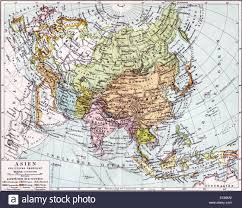 World Map Europe And Asia Historical Map Europe Asia Stock Photos Historical Map Europe Asia